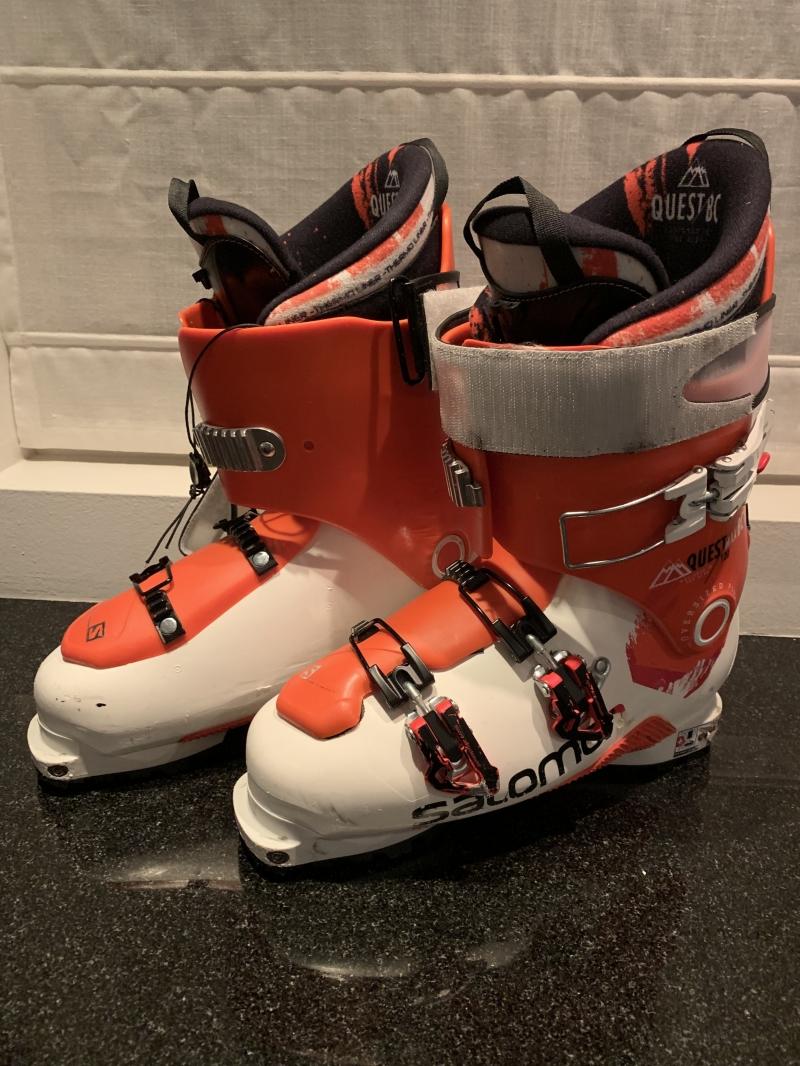 Kinderschoenen 29.Salomon Quest Max Bc Tour Ski Schoenen 29 29 5